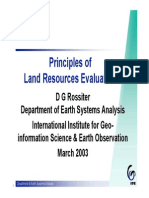 Intro to Land Resources Evaluation