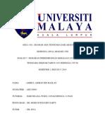 Assignment Asia Tenggara