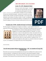 Casas Recortables. Ana Galindo