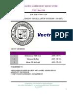 Vectracom MIS report