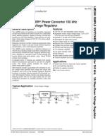 LM2596S ADJ Power Converter Regulator