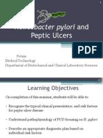 Helicobacter pyroli &