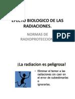 Efecto Biologico de Las Radiaciones