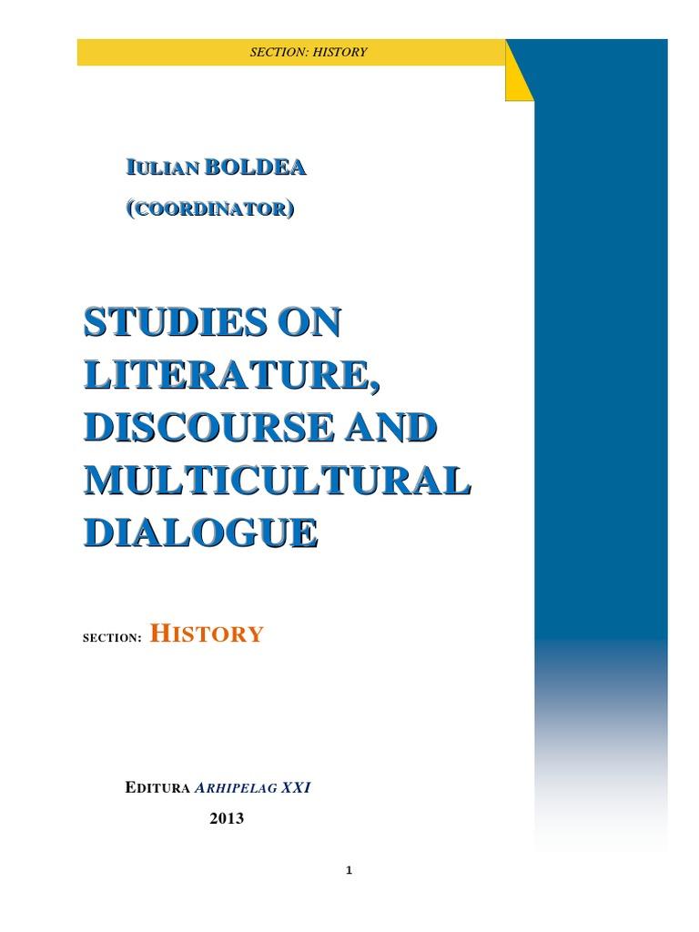 iulian boldea editor studies on literature discourse and