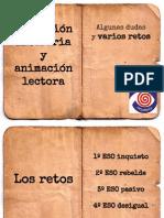 Educacion Literaria - Los Retos