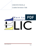 constitution of east london inventors club v0 5
