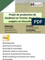 PPP 2013 - Projet de Production de Biodiesel en Tunisie