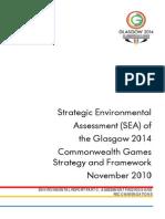 6a -Glasgow 2014 SEA Env Report Part C