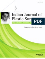 Indian Journal of Plastic Surgery - Dr.Lakshmi Saleem Article