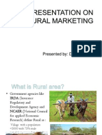 Rural Marketing by JRD 129