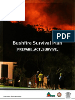 bushfire action plan