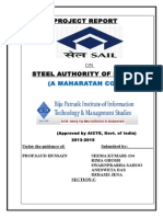 Sail-project Report - Seema & Team