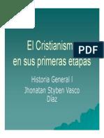 Unidad 8 El Cristianismo - Jhonatan Styben Vasco Diaz