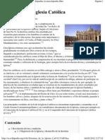 Doctrina de la Iglesia Católica - Wikipedia, la enciclopedia libre