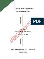 Hubungan Piagam Jakarta Dengan Uud 1945