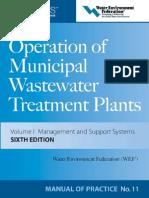 Operation of Municipal Wastewater Treatment Plants