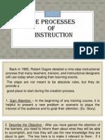 l  the processes of instruction-l