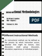 m  instructional methodologies