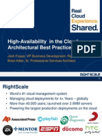 GuidedTrek_RightScale_High Availability in the Cloud_SanFran
