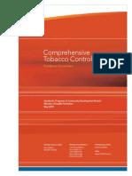 Comprehensive Tobacco Control