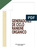 CICLO ORGÁNICO DE RANKINE