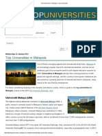Top Universities in Malaysia _ Top Universities