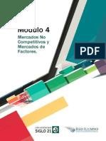 Lectura 4 - Mercados No Competitivos y Mercados de Factores