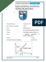 UNIVERSIDAD NACIONAL SANTIAGO ANTÚNEZ DE MAYOL HIDRAULICA 1