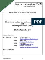 Diet Sheet1 Tmau 2010