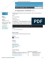 NuGet Gallery _ Phone Application Scaffolder 1.0
