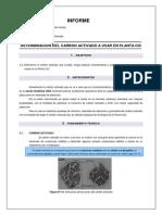 DETERMINACIÓN DEL CARBON ACTIVADO A USAR EN PLANTA CIC - copia