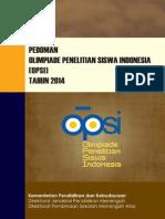 Pedoman OPSI 2014 Web
