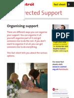 09 Organising Support