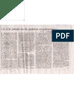 3 Handke entrevista Le Monde Nunca he sido negacionista