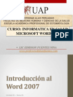 5. Microsoft Word 2007 Tema 01 - 2014