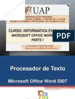 6. Microsoft Office 2007 Parte i - 2014