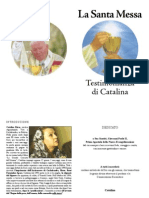 La Santa Messa- Rivelata Alla Mistica Catalina Rivas