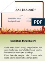 Panas (Kalor)