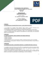 Dcho. Politico 2012 Catapano