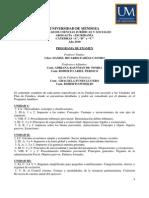 Dcho Financiero y Tributario 2010 Progr. Examen Farias Castro