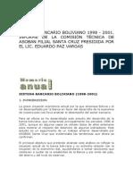 Sistema Bancario Boliviano 1998