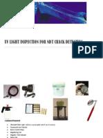 Uv Light Inspection for Ndt