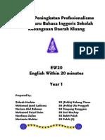 Modul EW20 Year 1