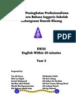 Modul EW20 Year 3