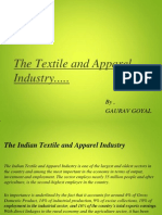 Textile and Apparel Industry