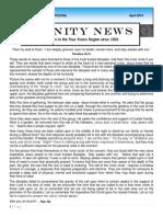 2014 -April Trinity News