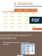 Function Jeopardy