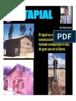 TAPIAL REFORZADO PUCP