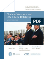 Nuclear weapons and US - China relations
