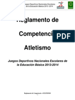10.-Reglamento de Atletismo Prim. 2014